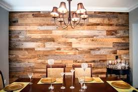 Red Accent Wall Dining Room Rectangle Dark Brown Wooden Table White High Back Chairs Rustic Wood Glass Drinking Water Bedroom Ideas Di