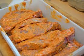 schweinenackensteak in toskana marinade katha kocht