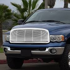 02-05 Dodge RAM 1500 / 03-05 2500 3500 Front Mesh Grille Grill - Chrome 2010 2011 2012 2013 2014 2015 2016 2017 2018 Dodge Ram 2500 Custom Grilles Sema Project Blackout In Gothic Image 1500 2wd Reg Cab 1205 Slt Grille Size 1024 Trex Billet Grills Grills For Your Car Truck Jeep Or Suv Plasti Dipped 2005 Bumper Grille And Badges Youtube 32 Great Dodge Ram Grill Otoriyocecom Which Grill Page 3 Dodge Ram Forum Truck Forums Torch Series Led Light Single 2 Cubes 8193 Mrtaillightcom Online Store Dip 2007 Emblems Bumpers Before And