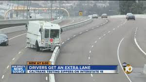100 Rush Truck Center San Diego TRAFFIC Drivers Get Extra Lane During Hour With Zipper