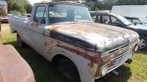 100 Ford Unibody Truck For Sale 1963 Ford F100 For Sale Near Gary Court South Carolina 29645