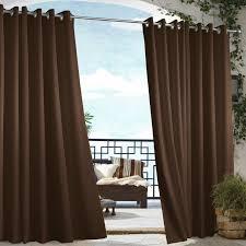 Vinyl Patio Curtains Outdoor by Gazebo Solid Indoor Outdoor Grommet Panel Walmart Com