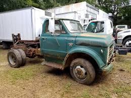 100 Truck Chassis 1967 CHEVROLET C50 Cab Farm Grain