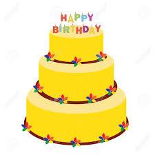 raster illustration happy birthday gruß auto mit kuchen und kerzen