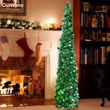 5ft Christmas Tree With Lights by Online Buy Wholesale Artificial Silver Christmas Trees From China
