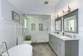 Ronbow Sinks And Vanities by Traditional Master Bathroom With Double Sink U0026 Wainscoting In