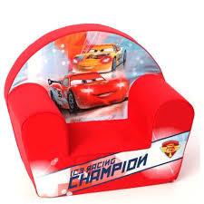 canape enfant cars disney cars racing chion fauteuil enfant disney baby