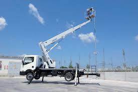 100 Truck Mounted Boom Lift Aerial Work Platform Rental RAN Haldus O