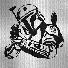 Boba Fett Helmet Pumpkin Stencil by Star Wars Clipart Boba Fett Svg Star Wars Svg Boba Fett