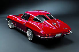 The 1963 Corvette Stingray With Its Distinctive Split Rear Window Which Lasted As Part