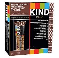 KIND Bars Almond Walnut Macadamia with Peanuts 10g Protein 12