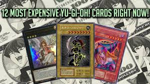 Most Expensive Yugioh Deck by 12 Most Expensive Yu Gi Oh Cards Right Now 2017 Youtube
