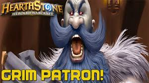 Warrior Hearthstone Deck Grim Patron by Hearthstone Grim Patron New Blackrock Warrior Deck Youtube