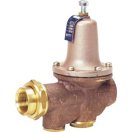 Watts LF25AUBZ3 Pressure Reducing Valve - Threaded Bronze, 3/4""