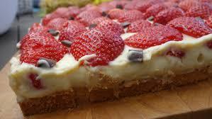 erdbeerkuchen mit pudding ohne zucker herzwiese24