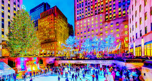 Rockefeller Christmas Tree Lighting 2014 by The Rockefeller Center Christmas Tree Maximilianimaging