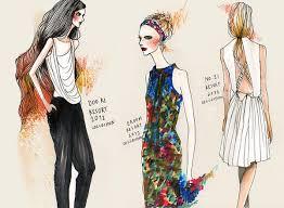 Fashion Sketches By Wa Tinee Paleebut