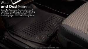 Lexus Floor Mats Es350 by All Weather Floor Mats For Lexus Youtube