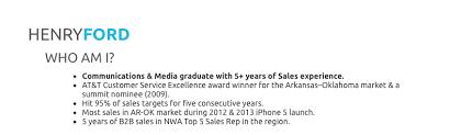 Resume Example Sales Lead