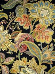 Jacobean Floral Curtain Fabric by 14 Best Draperies Images On Pinterest Upholstery Fabrics Color