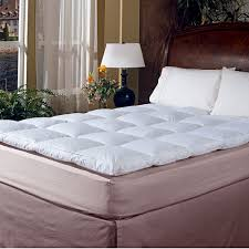 Kohls Jennifer Lopez Bedding by Royal Majesty 2 Inch Featherbed Mattress Topper