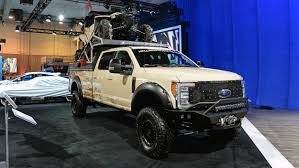 Ford Trucks And SUVs: SEMA 2017 Photo Gallery - Autoblog Planet Celebrates Ford Truck Turns 100 Years Old Happy 100th Birthday Trucks James Deakin Today Marks The Birthday Of Pickup Truck Autoweek United Pacific Unveils Steel Body For 193234 Trucks At Sema Recalls 2018 And Suvs Possible Unintended Movement Commercial Vans In Louisville Ky Oxmoor Diesel Offer Capability Efficiency New F150 Plants Recycle Enough Alinum 300 A Month Lanham Does It Matter That New 2017 Super Duty Is Like Tough Ford Tough The Verge Raptor Model Hlights Fordca