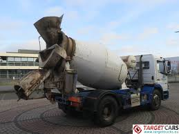 100 Concrete Mixer Truck For Sale MercedesBenz Atego 1524 4x2 Euro4 Hymix