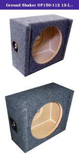 Ground Shaker OF150-112 12-Inch Single Sealed Mult… | Subwoofer ... How To Building A Ported Subwoofer Box Caraudfabrication Youtube Chevy Silverado 0107 1500hd Crew Truck Dual 12 Sub Kicker Build Speaker Steps With Pictures Wikihow Single Cab Design Best Resource Car Stereo Bass Enclosure 9906 Ext Rockford Punch P1s412 Buy Pioneer Udsw300d Downfiring For 12inch Crutchfieldcom 42018 1500 2500 Shop Wedge Black Sealed Tcws10 10 Comps 2ohm Loaded Vented Gray 112vh