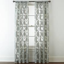 Jcpenney Sheer Curtain Rods by Royal Velvet Belgravia Rod Pocket Sheer Curtain Panel Sheer