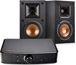 Klipsch R 14M Bookshelf Speakers & Powergate Amplifier Bundle