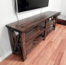 Rustic Console Table Diy Projects Canada Full Size Of