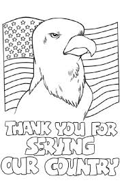 New Veterans Day Coloring Pages Free Online