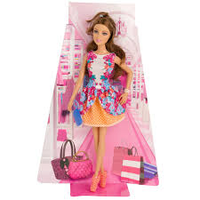 Barbie Doll Colour Game