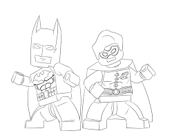 The Lego Batman Movie Coloring Sheets