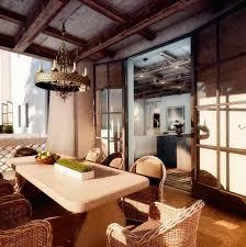 rustic dining room interior design ideas
