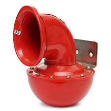 12V Metal Red Electric Bull Horn Super Loud Raging Sound W/ Pull ... 12v 125db Car Motorcycle Truck Horn Compact Electric Pump Air Loud Trux Accsories 3bell Train Model Thorn1 Auto Speaker Alarm 150db Tone Vehicle Boat Motor Lumiparty 178db Super Dual Trumpet Compressor Horns Sound Effect Youtube Flexzon 12v24v 139db Van Bus Vintage Jubilee Bull 90 Rat Rod Hot 12vt Fog Horn Makes 8milelake 150db Single For Wolo Electric Horns For Cars Trucks Boats Rvs And Motorcycles The Best 2018 Loudest Electrical