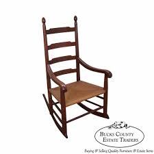Pair Of Painted Shaker Style Rocking Chairs Chairish Rocking ...