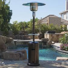 Fire Sense Deluxe Patio Heater Stainless Steel by Best Patio Heaters For Your Outdoor Space Smarthome Guide