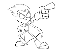 Robin Coloring Pages For Kids