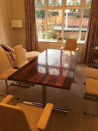 70's Retro Pieff Rosewood Dining Table And Six Pieff Chairs | In  Darlington, County Durham | Gumtree Waterfall Fniture Wikipedia A Modern And Organic Ding Room Makeover Emily Henderson Dom Round Ding Table In Hardened Glass Steel Paul 7 Ways To Refresh The Look Of An Existing Oldboringnot Rattan 1970s Throwback Thats Hottest How Restore 1950s Chrome Kitchen Table Chairs Home Fding Value Vintage Mersman Fniture Thriftyfun Pine Nd Four Chairs Which Have Material Seat Covers Blairgowrie Perth Kinross Gumtree Chair 60s 70s Stunning Retro G Plan Fresco Range Extending Round And 4 Decoration Designs Guide Best Guides