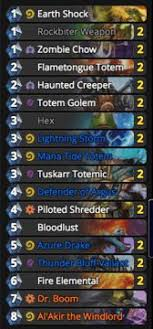 hearthstone totem shaman decklist and guide hearthstone heroes