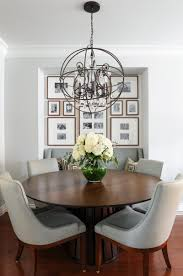 Beautiful Transitional Dining Room Chandelier