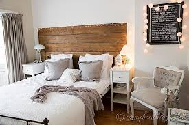 Bed Room Decorating White And Grey 1