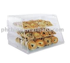 SCB 109 Custom Manufacture Clear Acrylic Countertop Bakery Display Case Box