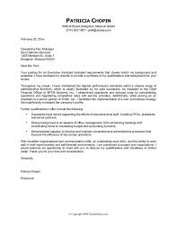 Administrative Assistant Cover Letter Example Resume Cover