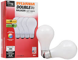 sylvania halogen l dimmable light bulb a19