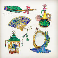 Drawing Art Malaysia Coloring Books Watercolors Drawings Calligraphy