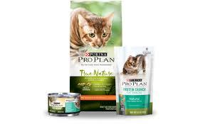 high protein cat food true nature grain free cat food purina pro plan