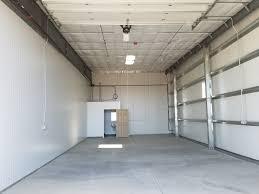 Secure RV Storage Garage