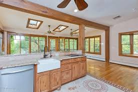 craftsman kitchen with high ceiling tile in wall township